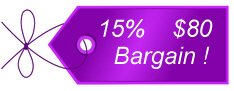 Take an additional 15% Off With Coupon Code BARGAIN